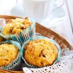 Apple and raisin muffins — Stock Photo #58162783