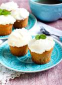 Earl Grey low fat muffins  — Stock Photo
