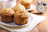 Morning muffins — Stock Photo