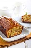 Marmalade and apricot tea bread — Stock Photo