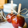Candy apple, Christmas dessert — Stock Photo #58346747