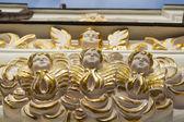 Fasade of Uspensky cathedral in Kiev — Stock Photo