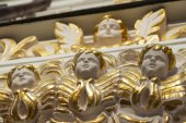 The Dormition Cathedral. decoration — Stock Photo