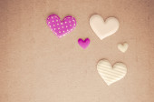 Tiny hearts — Stock Photo
