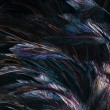 Abstract background colorful and dark shadow of Feather — Stock Photo #64915589