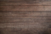 Horizontal wooden fence panels — Stockfoto