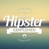 Vintage label, hipster theme badge logo — Stock Vector
