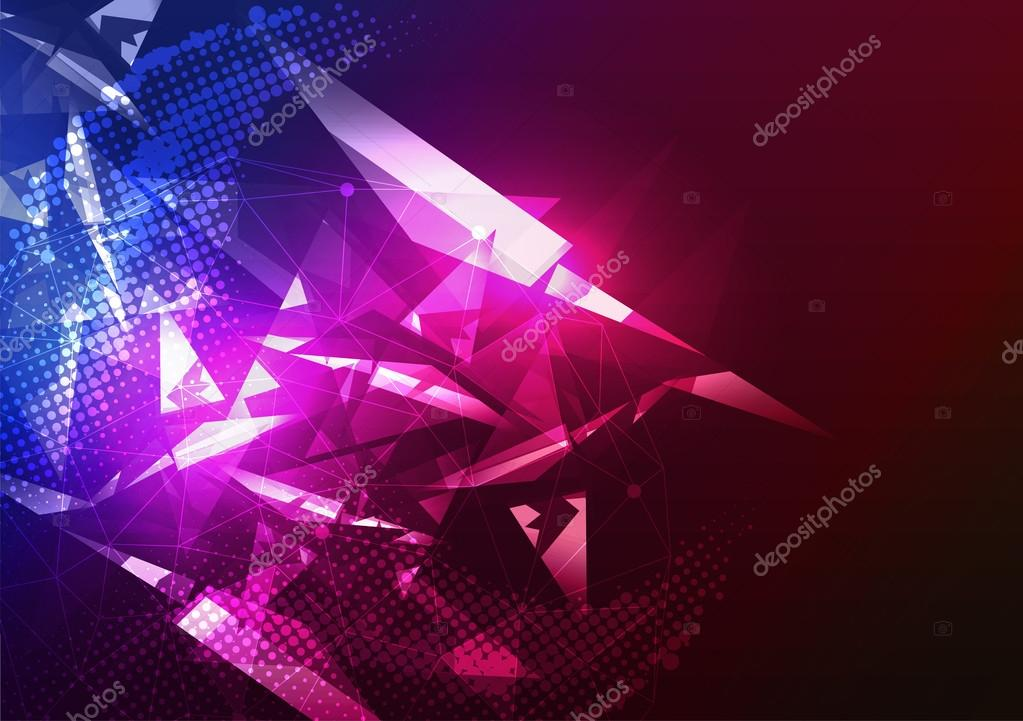 Disco Party Poster Background Template Vector