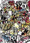 Casino Doodle — ストックベクタ