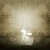 Background with Candles — Photo