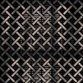 Metal grid background — Stock Photo