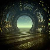 Mystic Tunnel — Stock Photo