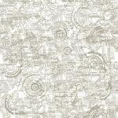 Electronic Background Pattern — Stock Photo