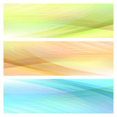 Abstract bright background set — ストックベクタ