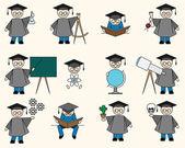 Bachelor or Education Set — Stock Vector