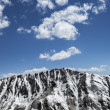 Snow covered sharp mountain ridge — Stock Photo #59699383