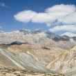 Scenery view on snow capped mountains in Ladakh — Stock Photo #59700593