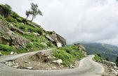 U turn in Himalaya mountains — Stock Photo