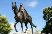 Statue of Queen Elizabeth II — Stock Photo