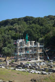 Temple of the Great Gods at Samothrace — Stock Photo
