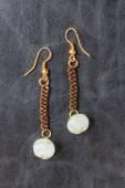 Conception de bijoux de perles — Photo