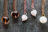 Beads jewelry designs — Stockfoto