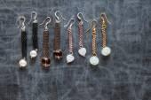 Diseños de joyería de perlas — Foto de Stock