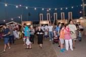 Víno festival 2014 v alexandroupolis - řecko — Stock fotografie