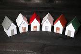 House symbol - Miniatures houses — Stock Photo
