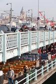 Мост galata — Стоковое фото