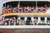 Ships at Eminonu — Stock Photo