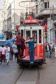Taksim tram — ストック写真