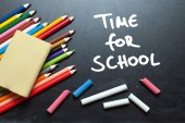 Time for school — Stock Photo