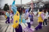 Xanthi Carnival Parade — Stock Photo