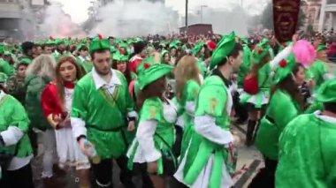 Xanthi carnival — Stock Video