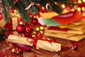 Christmas post. — Stock Photo