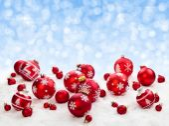 不同的圣诞球. — 图库照片