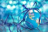 Blue globe. — Stock Photo