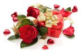День Святого Валентина подарок. — Стоковое фото