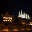 Real Almudaina Palace and Cathedral in Palma de Mallorca, Balear — Stock Photo #52304569