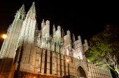 Cathedral of Palma de Mallorca, Balearic Islands, Spain — Stock Photo