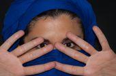 Müslüman kadının portresi — Stok fotoğraf