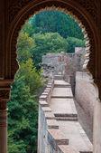 Palazzo dell'alhambra a granada — Foto Stock