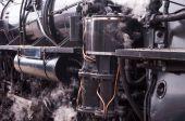 Паровой поезд — Стоковое фото