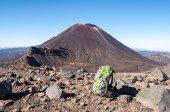 Hiker Backpack — Stock Photo