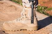 Military boots — Stock Photo