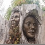 ������, ������: Papa &amp Rangi Sculpture by Brian Woodward &amp Ken Blum