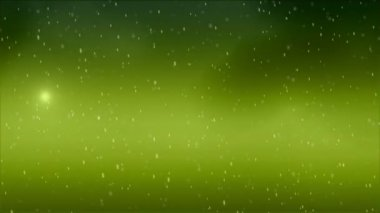 Green Particles — Stock Video