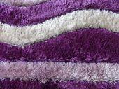 Purple and white Carpet — Stock Photo