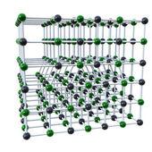 Line defect molecular phenomenon — Stock Photo